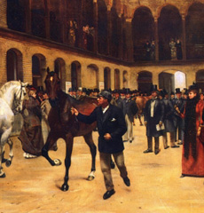Isaac Cullin The Horse Auction